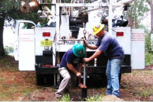 This is a picture of well drilling and well pump repair
